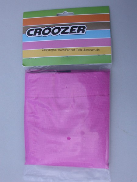 Croozer-Kid1-Sonnensegel-Pink