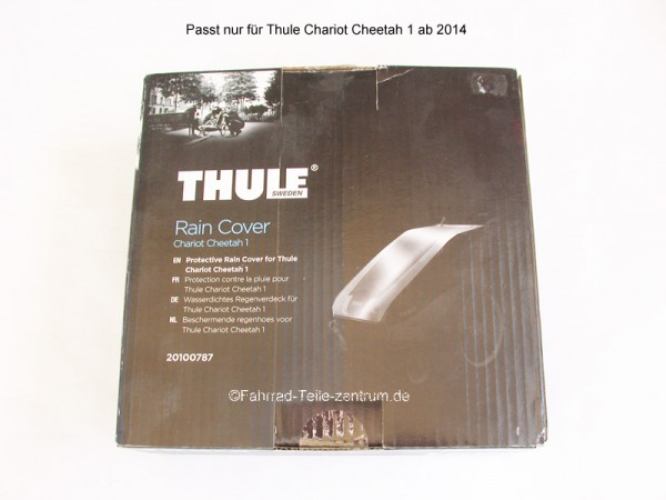 Thule Chariot Rain cover Cheetah 1 from 2014