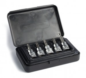"XLC bit set for 3/8"" torque wrench"