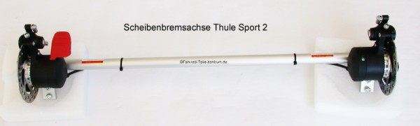 Thule Chariot Axle Assembly Sport 2 with disc brake