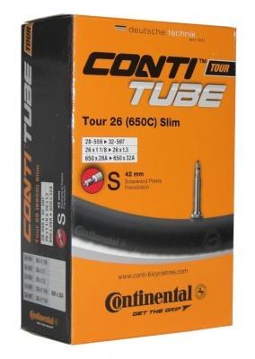 Tube Conti Tour 26 slim 26x1 1/8 - 1.30 inch 28/32-559/597