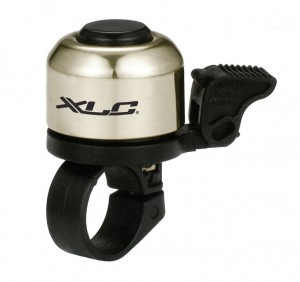 XLC Minibell for bicycle silver