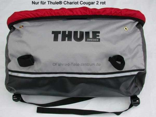 Thule Chariot cargo bag cougar 2 red Mod. 2009
