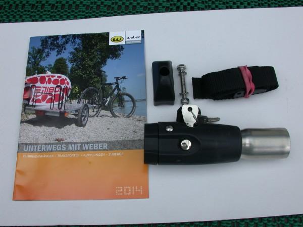 Deichselanschluß Weber Deichsel Croozer D 28,6mm