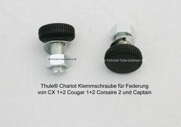 Chariot-Klemmschraube-Federung