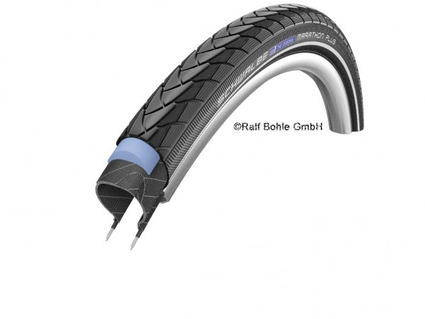"Bicycle tire Schwalbe MARATHON PLUS HS440 26x1.75"" 47-559"