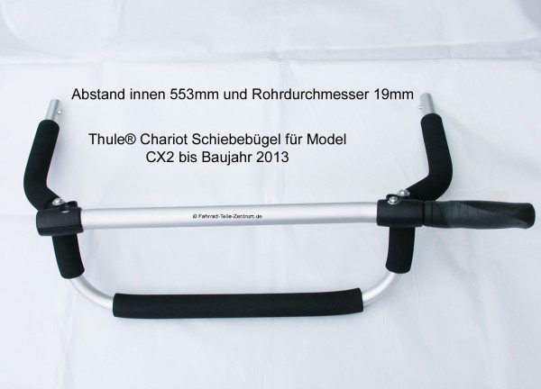 Chariot CX2 handlebar