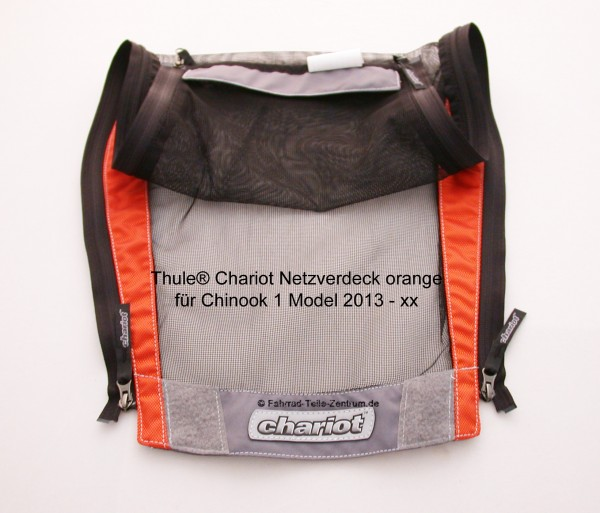 Chariot Netzverdeck orange