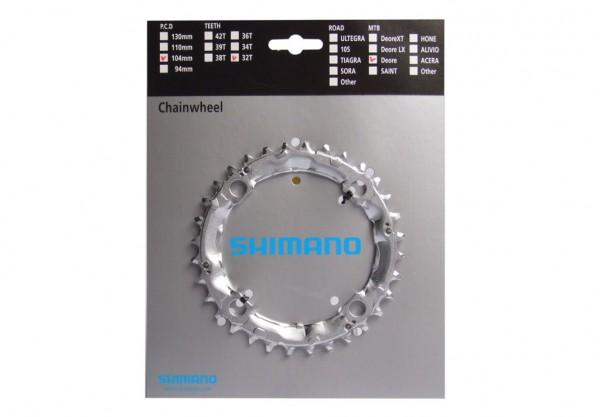 Shimano Deore FCM-510 Kettenblatt 4 Loch 104mm 32 Zähne