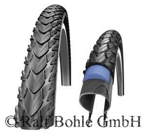"Bicycle trekking tire MARATHON PLUS TOUR HS404 26x1.75"" 47-559"