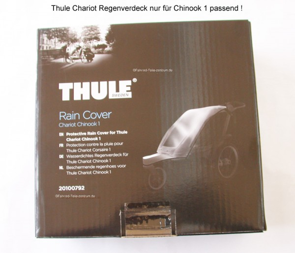 Thule Chariot Rain cover Chinook 1 from 2014