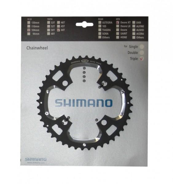 Shimano fc-m540 MTB Kettenblatt 4 Loch 104mm 44 Zähne