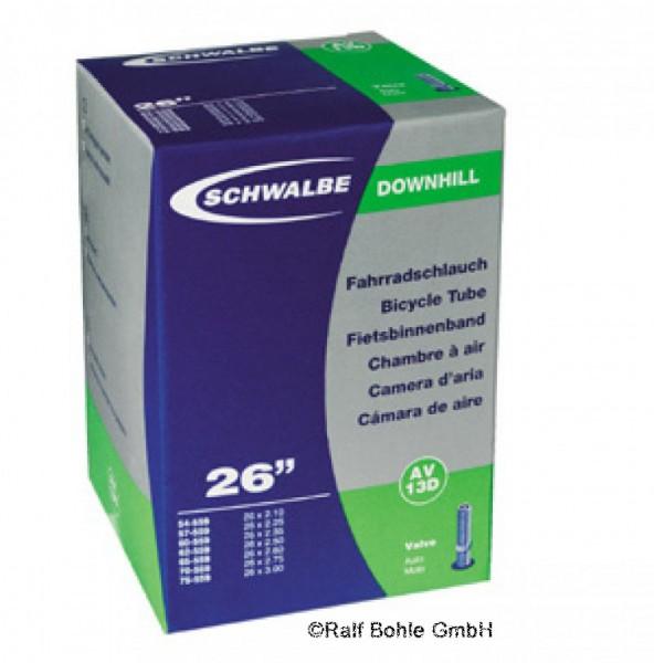 Downhill Fahrradschlauch Schwalbe AV10D 24x2.10 -3.00 Zoll 54/75-507