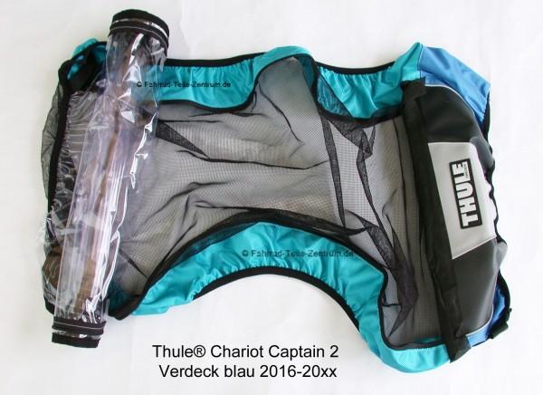 Thule Chariot Verdeck Captain 2 blau ab 2016