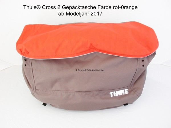 Thule Chariot cargo bag cross 2 red-orange Mod. 2017
