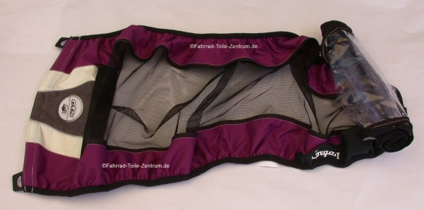 Thule Chariot Cougar 1 Cover purple ab 2012