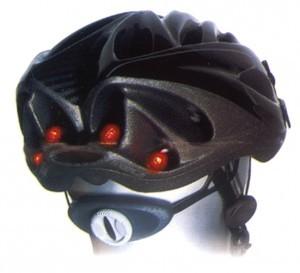 B+M helmet flash light
