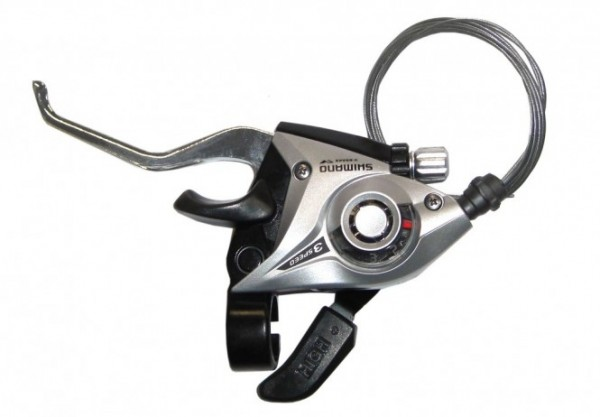 Shimano st-ef51 combi lever 3x silver