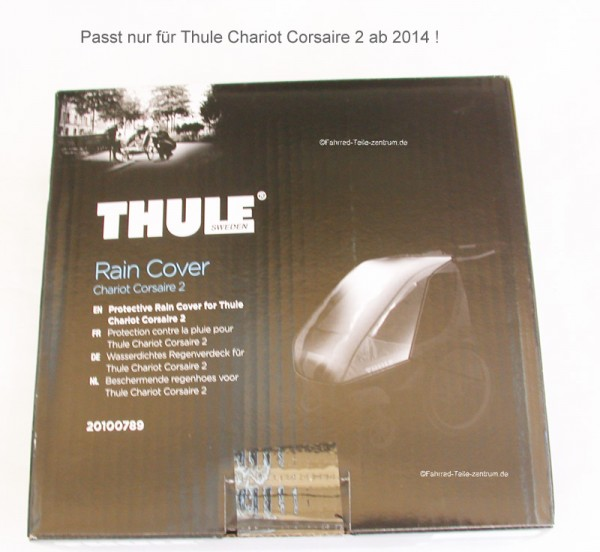 Thule Chariot Rain cover Corsaire 2 from 2014