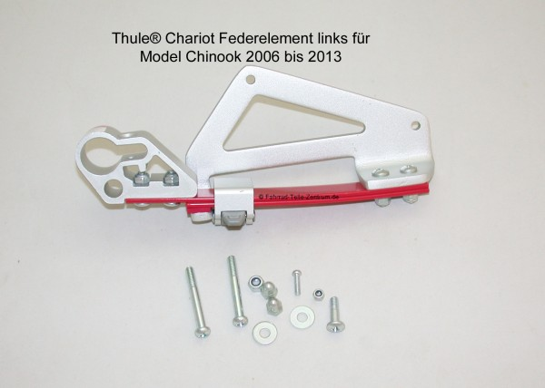 Federelement links Thule Chariot Chinook