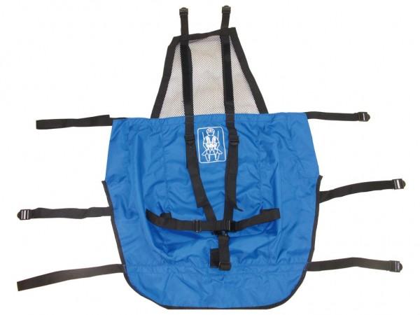 XLC Mono Sitzbezug blau
