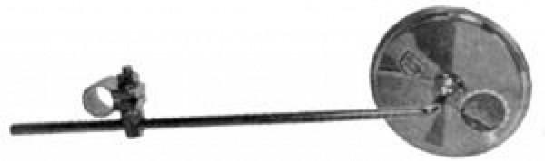 Busch und Müller Fahrradspiegel Polo rund 110mm