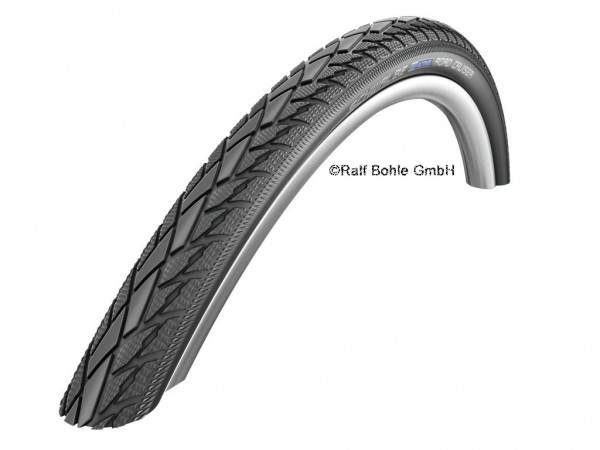 Bicycle tire Schwalbe Road Cruiser hs377 28x1.25 inch 32-622 white wall