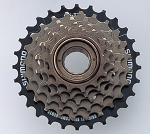 Shimano sprocket screwable 6-speed