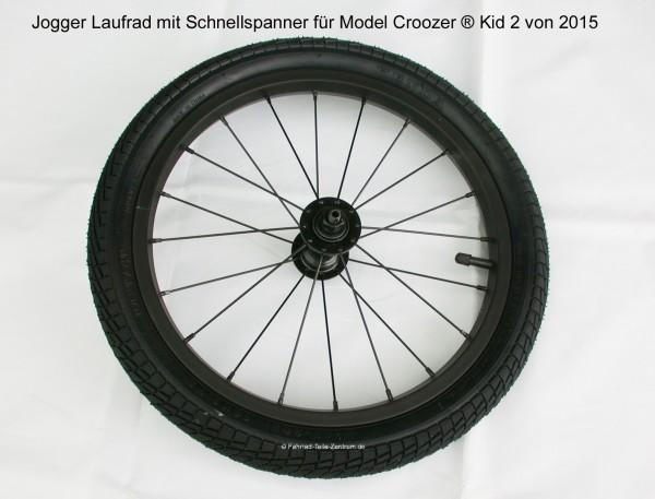 Joggerrad Croozer XLC Model 2015 Schnellspanner