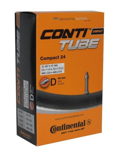 Tube Conti Compact 24 DV 24x1 1/4 /1.75 inch 32/47-507/544
