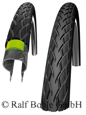 Bicycle tire Marathon hs420 GreenGuard reflex 18 x 1.65 inch