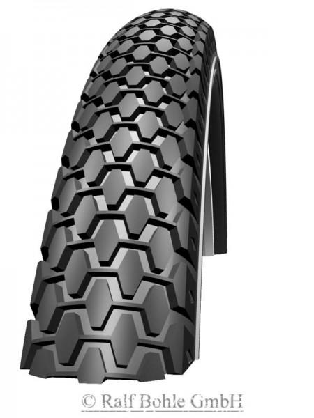 "BMX bicycle tire Schwalbe KNOBBY HS160 20x2.0"" 54-406"