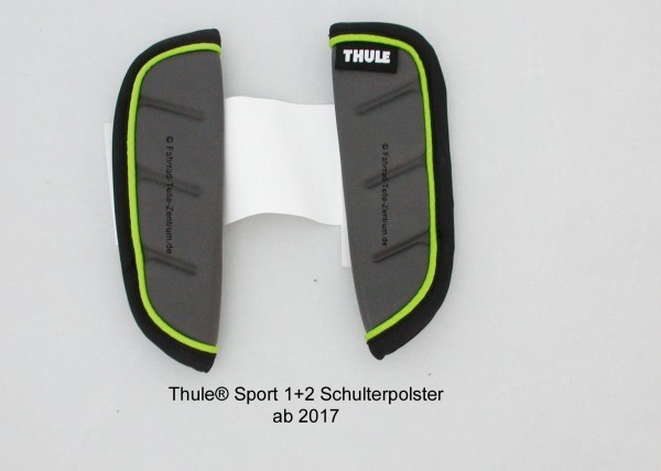 Thule-Sport-Schulterpolster-Chartreuse