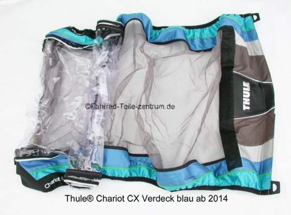 Thule Chariot CX 2 Cover blue 2014