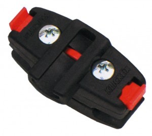 Klickfix cable lock holder with adapter