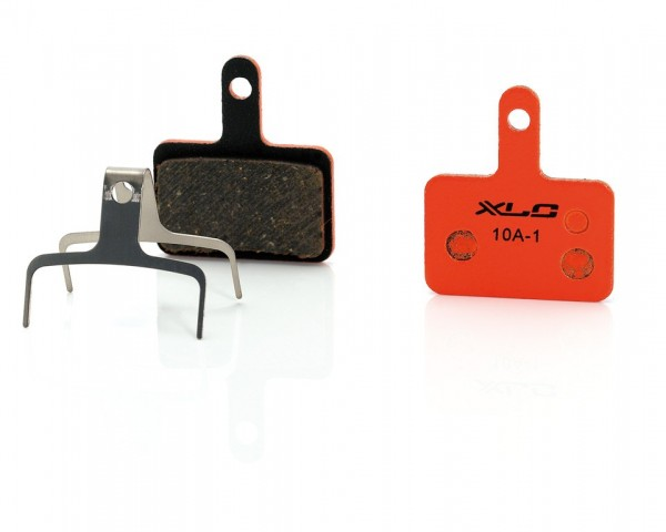 XLC bp-o07 organic disc brake pads for Textro and Shimano