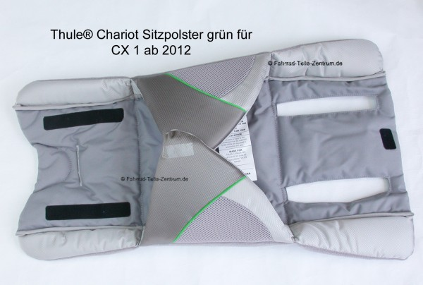 Thule Chariot CX 1 seat pad green from 2012