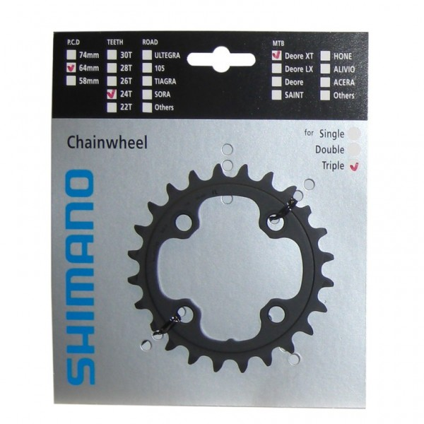 Shimano Deore XT chainring 22 teeth FC-M770