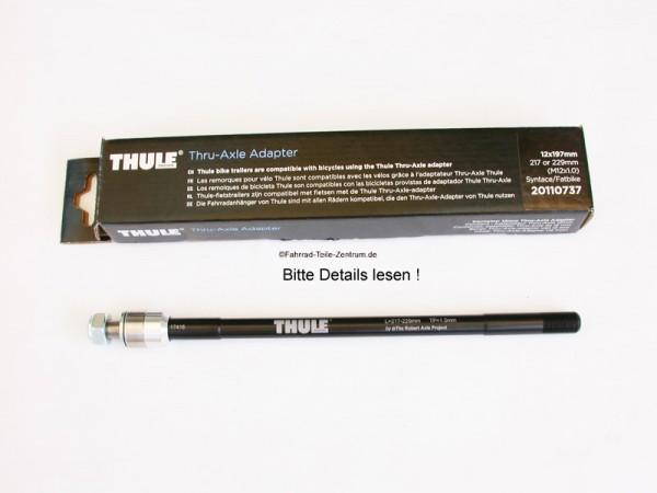 Thule Thru Axle Adapter Steckachse M12 x 1.0mm Fat Bike Syntace