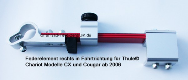 Thule Chariot CX and Cougar right suspension assembly