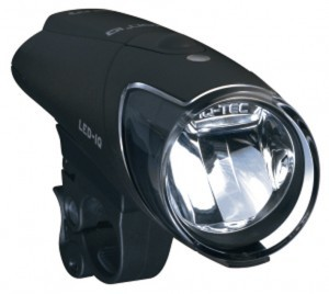 B&M Fahrrad Batterie LED Leuchte IXON IQ im Set