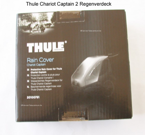 Thule Chariot Rain cover Captain 2 from 2014