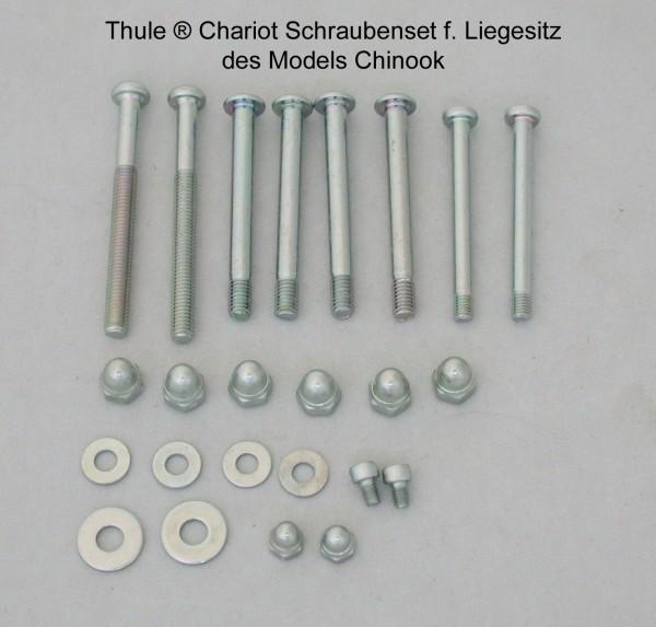 Chariot-Chinook-Schraubenset-Liegesitz