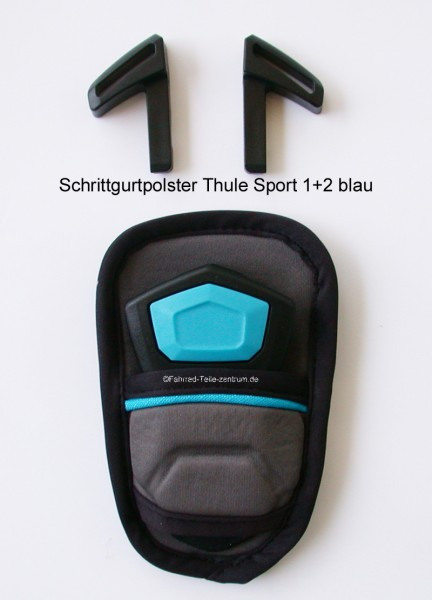 Thule Chariot Sport 1+2 Crotch pad blue