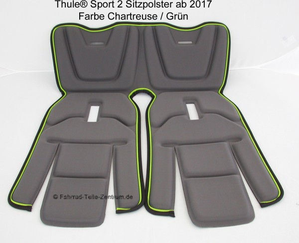 Thule-Sport2-Sitzpolster-chartreuse