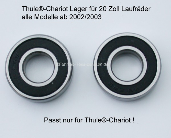 Wheel bearing for Thule Chariot 20 inch wheels
