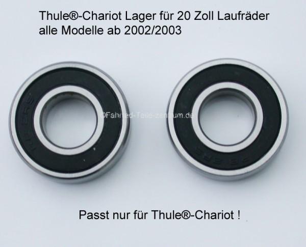 4x Radlager für Thule Chariot Laufrad gross