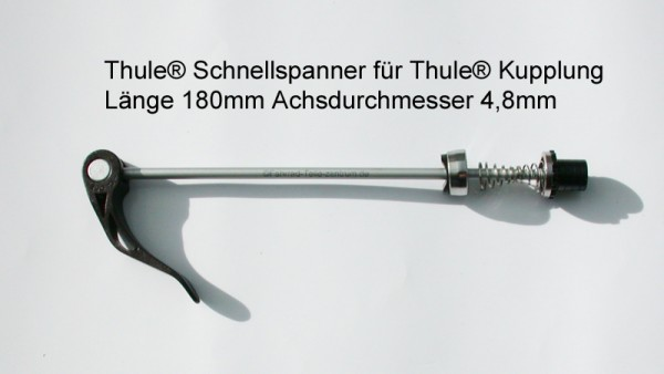 QR scewer cycling kit Thule