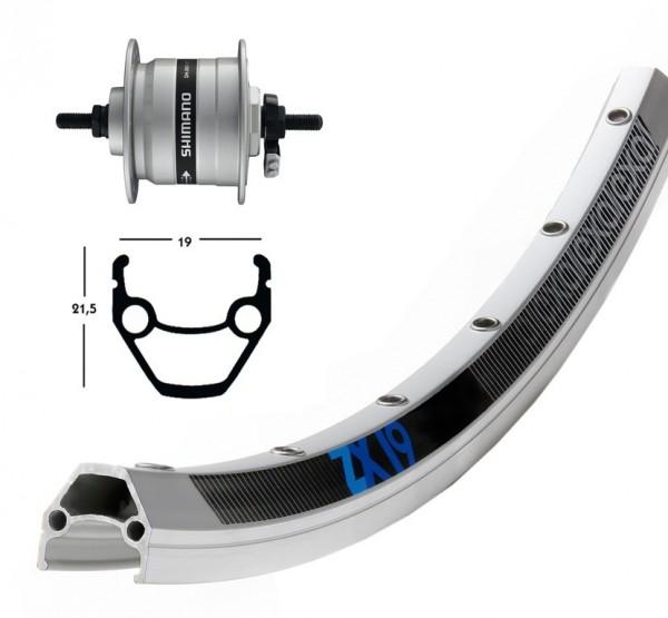 1 Exal front wheel 28 inch center dynamo