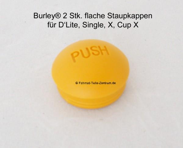 Burley flache Staubkappe